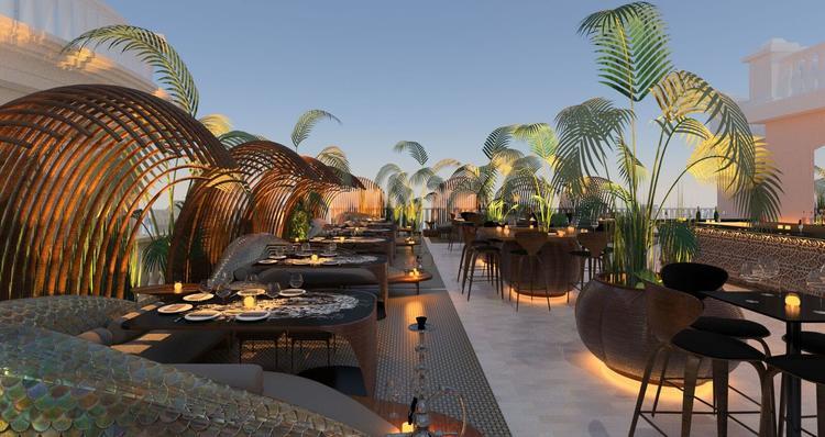 مطعم  ألوندا الإيطالي في دبي